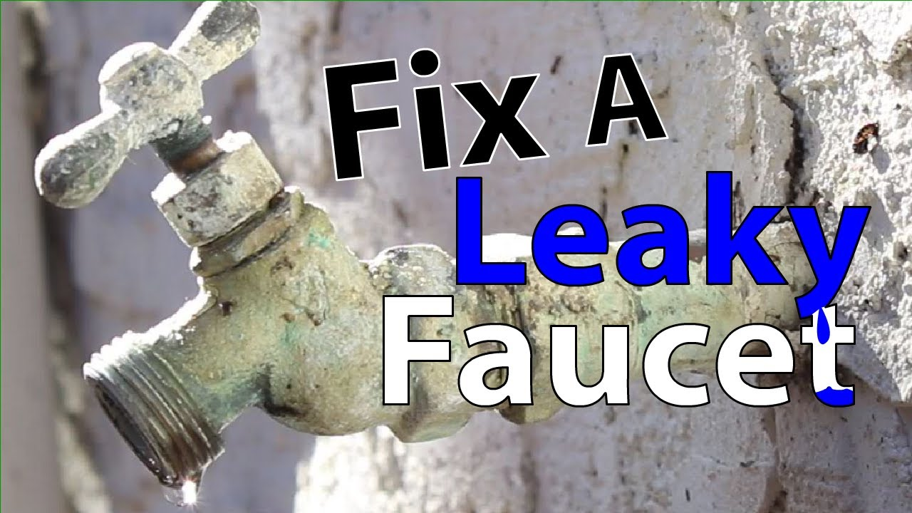 How to Fix a Leaky Faucet - YouTube