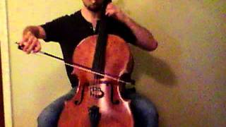 Yellow Ledbetter - Solo Cello
