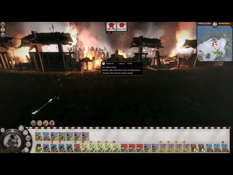 Total War: Shogun 2 - Battle of Saito, 1546 (1080p | Full Battle)