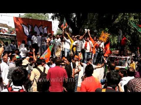 BJP celebrates Modi's victory