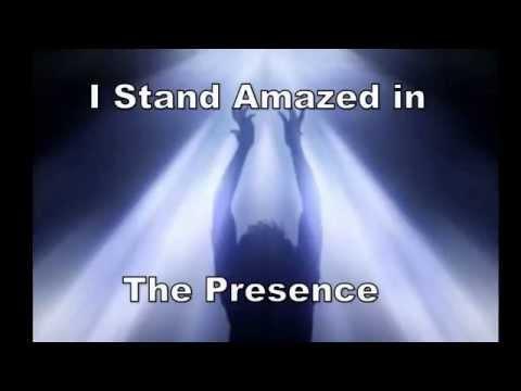 I Stand Amazed in the Presence of Jesus the Nazarene with lyrics