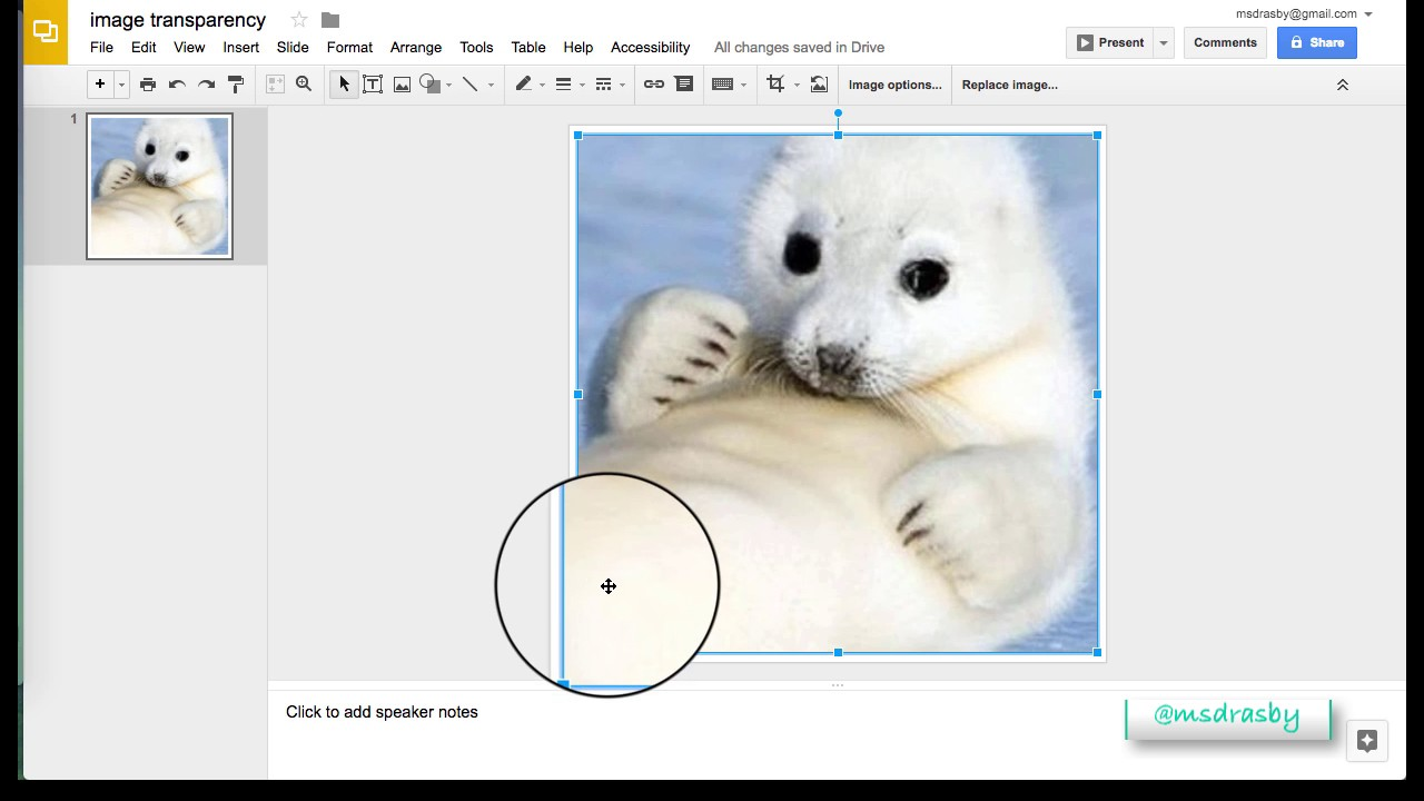 google slides creating transparent background youtube