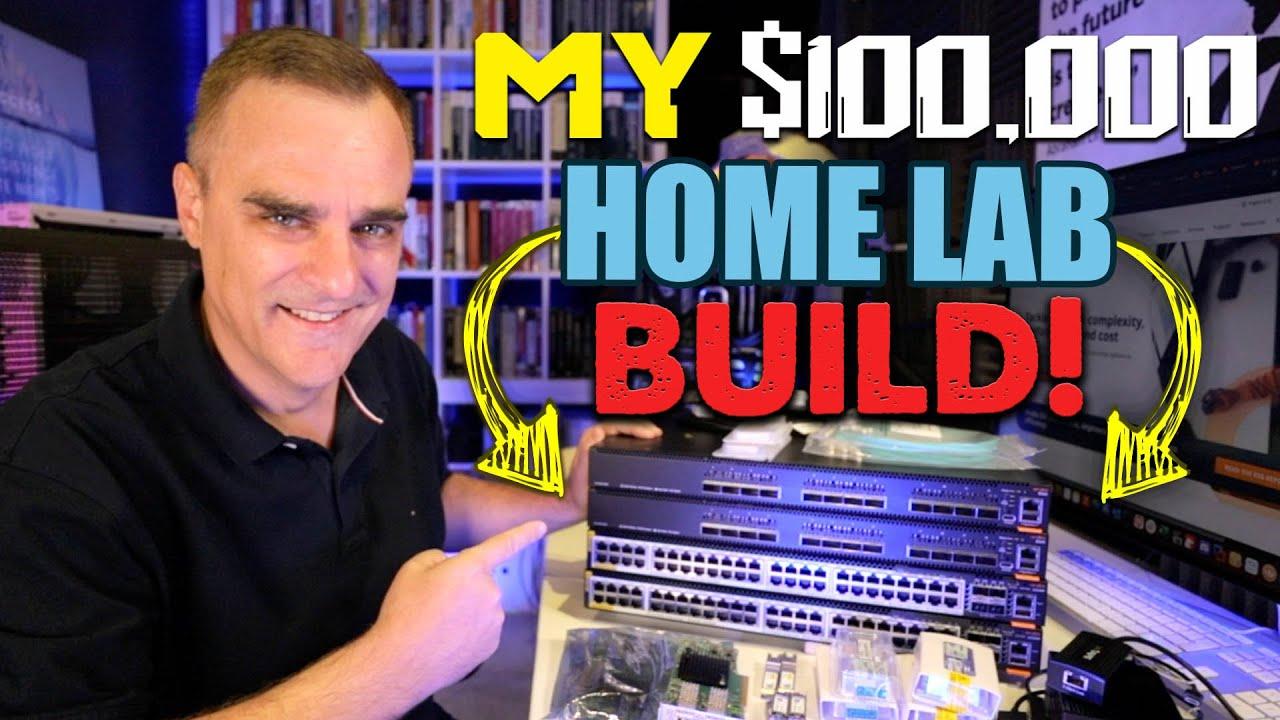 Insane $100,000 home lab!