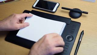 Освоюємо графічний планшет Wacom Intuos PRO Paper Edition: малювання без ПК, мобільна робота