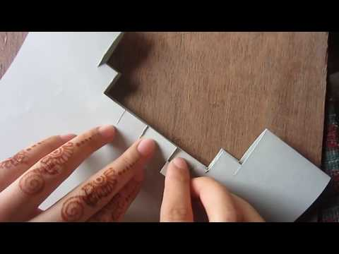 How to Make a easy Pop-Up Card without Tracing|kirigami paper art from pakistan