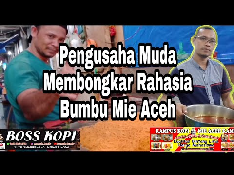 Bongkar Rahasia Bumbu Mie Aceh