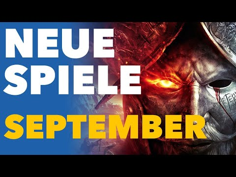 Der September ist sooo voll mit neuen Spielen! - Release-Vorschau