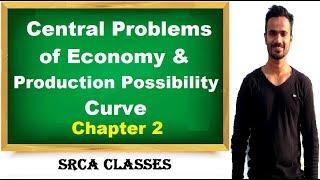 Chapter 2 micro economics- central problems of economy & PPC