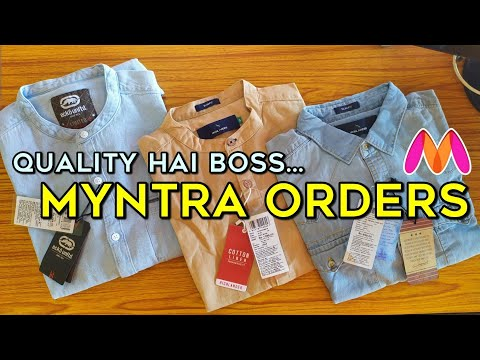 Myntra Shirt Unboxing | Myntra Clothes Quality | Myntra Discount Offer #Myntra #Unboxing #Clothes