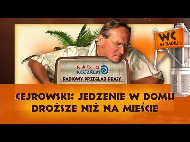 Cejrowski: jedzenie w domu droższe niż na mieście   Odcinek 843 - 23.04.2016
