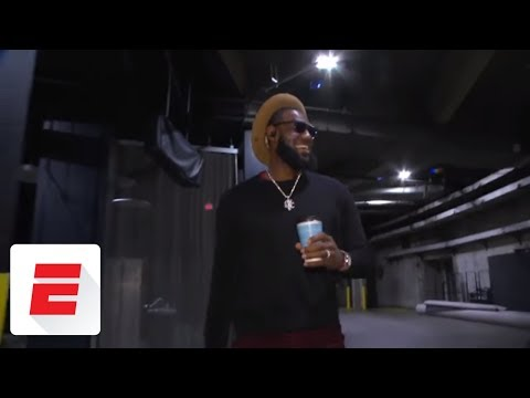 LeBron James says he's 'got to' play with his son if he makes it to NBA | ESPN