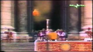 Funerale di papa Paolo VI spezzone   Agosto 1978