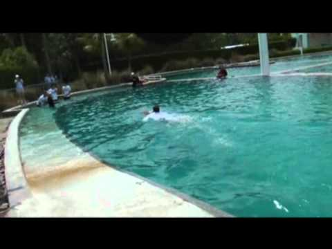 [Miami Masters 2012] ATP players have fun with dolphins