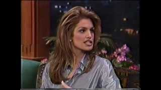 CINDY CRAWFORD - INTERVIEW - MID 90's