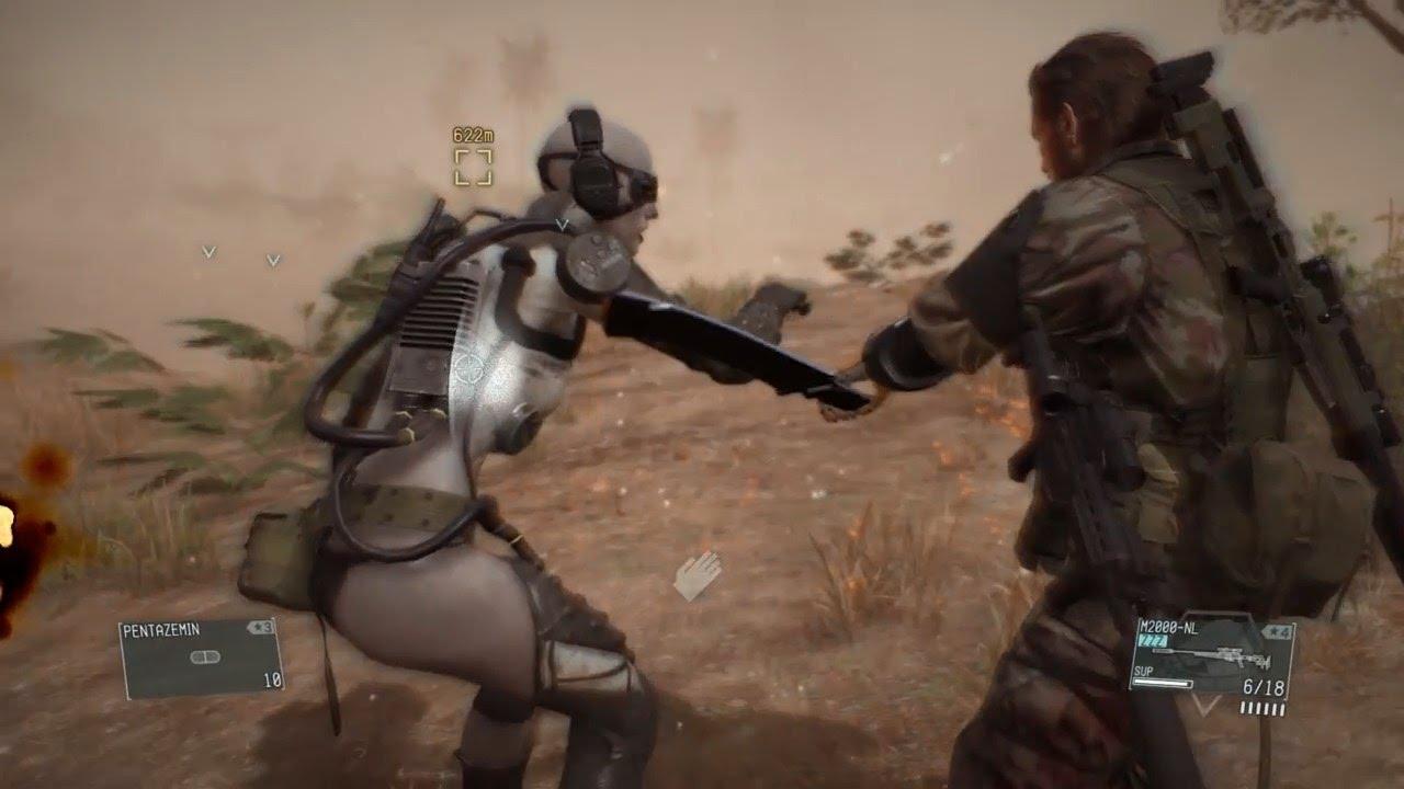 MGSV: The Phantom Pain - Mission 28 - Code Talker - Female Skulls