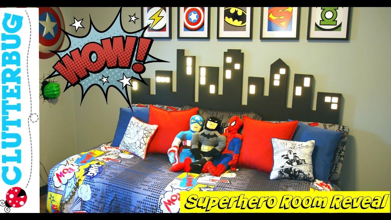 5 Easy Superhero Diy Room Decor Ideas And How To S Youtube