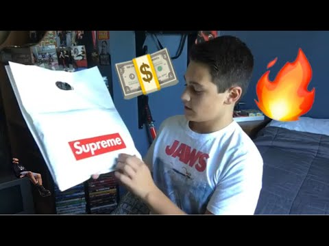 Is supreme worth it? (supreme x hanes Unboxing!)