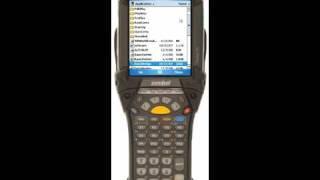 Loading DataWedge on a Motorola MC9090