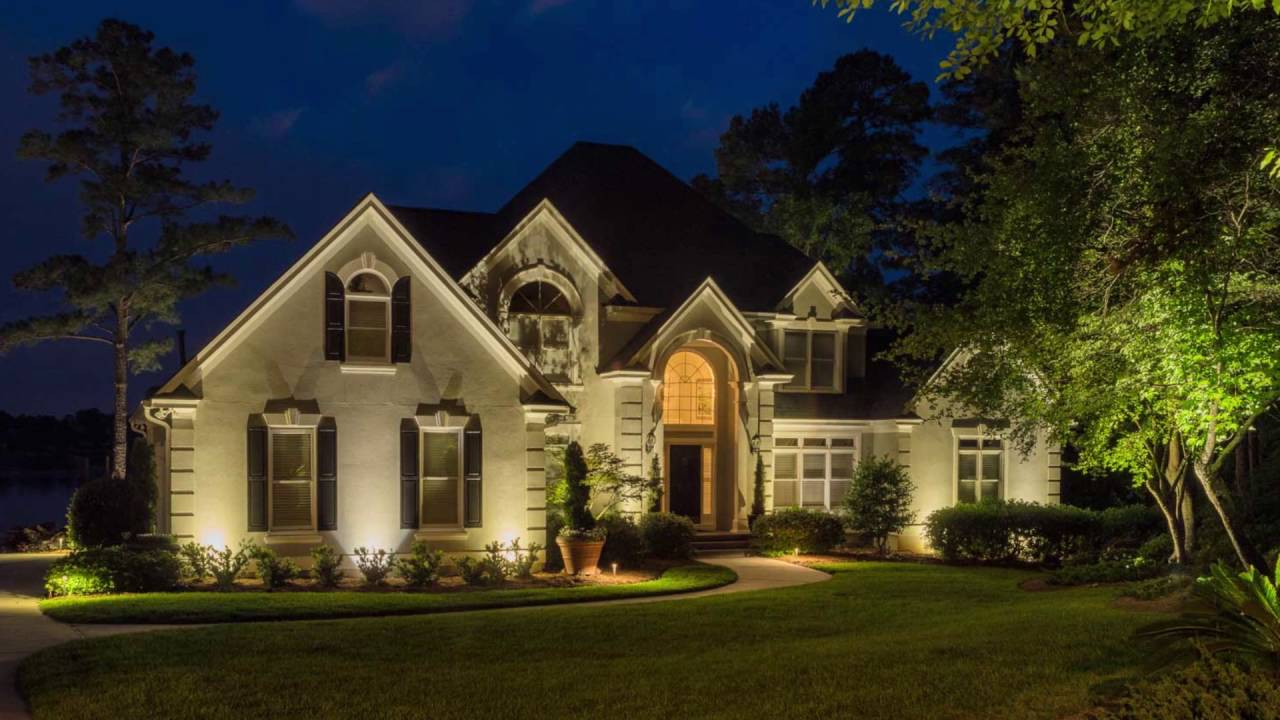 Outdoor Lighting Charlotte