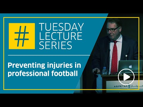 Preventing injuries in professional football