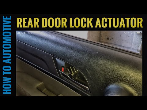 How to Replace the Rear Door Lock Actuator on a 2007-2011 Honda CR-V