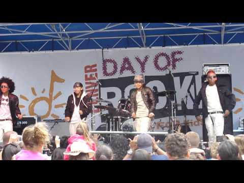 Mindless Behavior - My Girl (live)