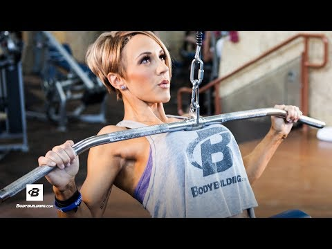 IFBB Pro Jessie Hilgenberg's Strong Back Workout streaming vf