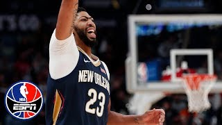 Anthony Davis' double-double of 43 points and 17 rebounds leads Pelicans to victory | NBA Highlights