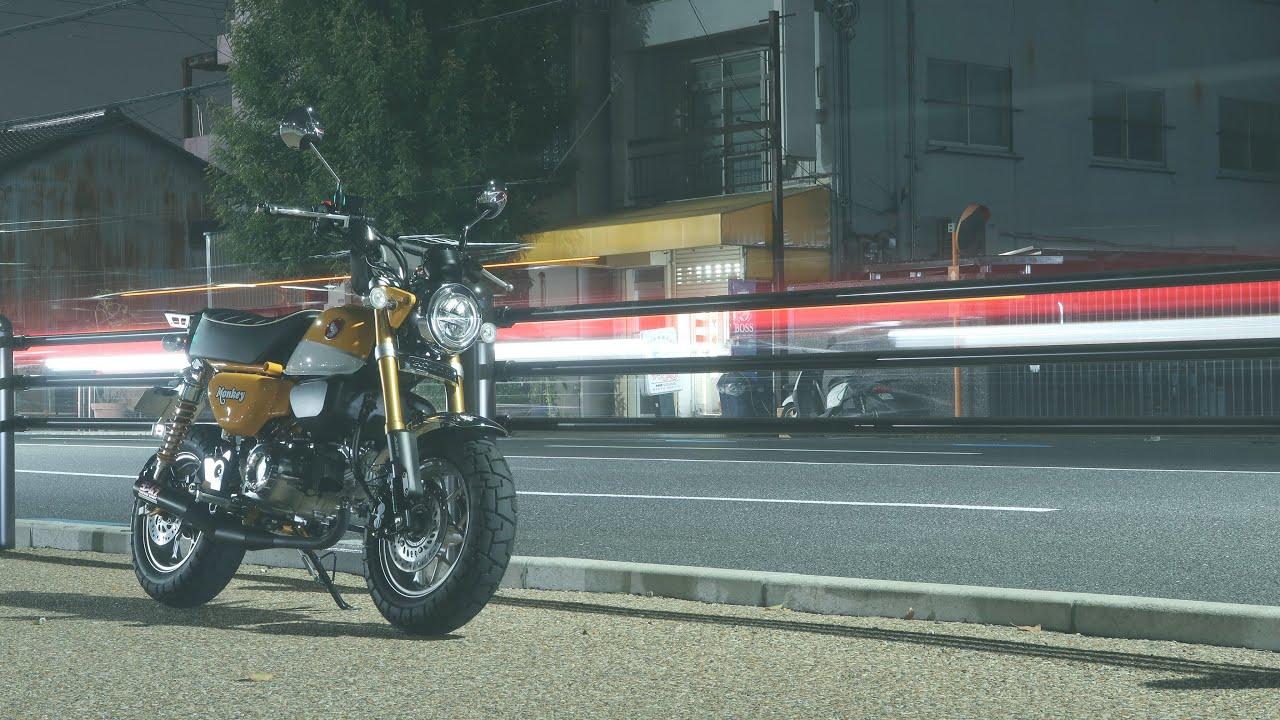 【モンキー125の楽しみ方】平日の夜、時間がなくてもバイクを眺めて過ごす