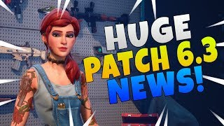 Fornite Save The World NEW UI Update | Fortnite Patch 6.3 Info