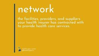 Glossary: Network