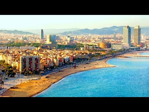 les plus belles vues de barcelone youtube. Black Bedroom Furniture Sets. Home Design Ideas