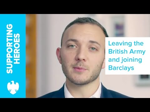 Life After The Military: Tim Kemp's Story | Barclays