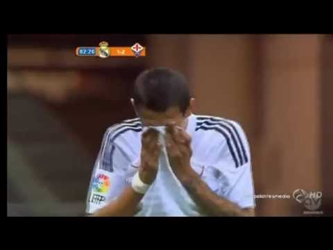 Di Maria Amazing LOST ~ Real Madrid vs Fiorentina 1-2 Friendly Match 2014