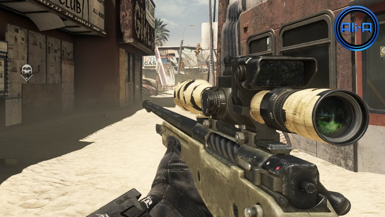 "GHOSTS Multiplayer Gameplay New ""HONEY BADGER"" Sniping"