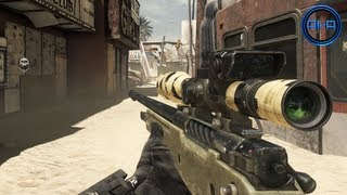 ghosts multiplayer gameplay new honey badger sniping dynamic maps call of duty ghosts