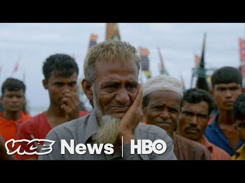 We Spoke To Rohingya Muslims Fleeing Ethnic Cleansing In Myanmar (HBO)
