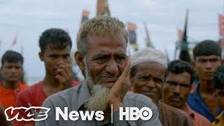 We Spoke To Rohingya Muslims Fleeing Ethnic Cleansing In Myanmar (HBO) thumbnail