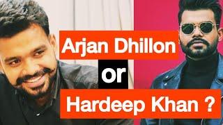 Sardar's Take on Arjan Dhillon's name story | Hardeep Khan or Arjan Dhillon | Latest Punjabi Songs