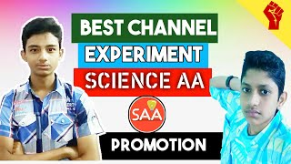Best Channel Experiment SCIENCE AA | Promotion Video | AR STUDIOS