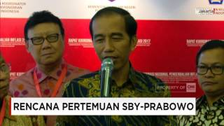 Download Video Jokowi Tanggapi Rencana Pertemuan SBY-Prabowo MP3 3GP MP4
