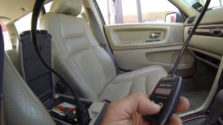 Volvo V70 Replacing The Brake Light Switch (Genuine Spare Parts 9128577).