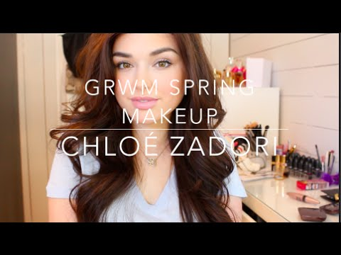 Chit Chat GRWM: Fresh Spring Makeup - Chloé Zadori - 동영상