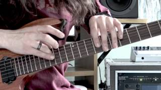 Iron Maiden - Wasted Years - Guitar Performance by Cesar Huesca