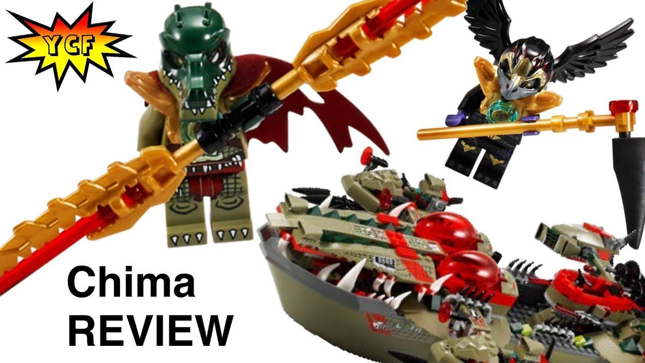 LEGO 70006 Legends of Chima Cragger/'s Command Ship Cragger Minifigure