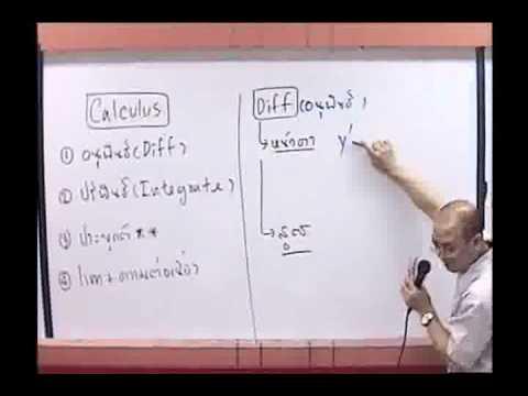 Calculus แคลคูลัส ม.6 [1-4] By www.tutoroui-plus.com