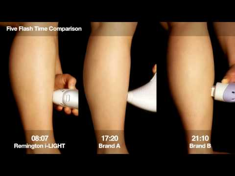 Ipl Hair Removal 5 Flash Test Remington I Light Vs