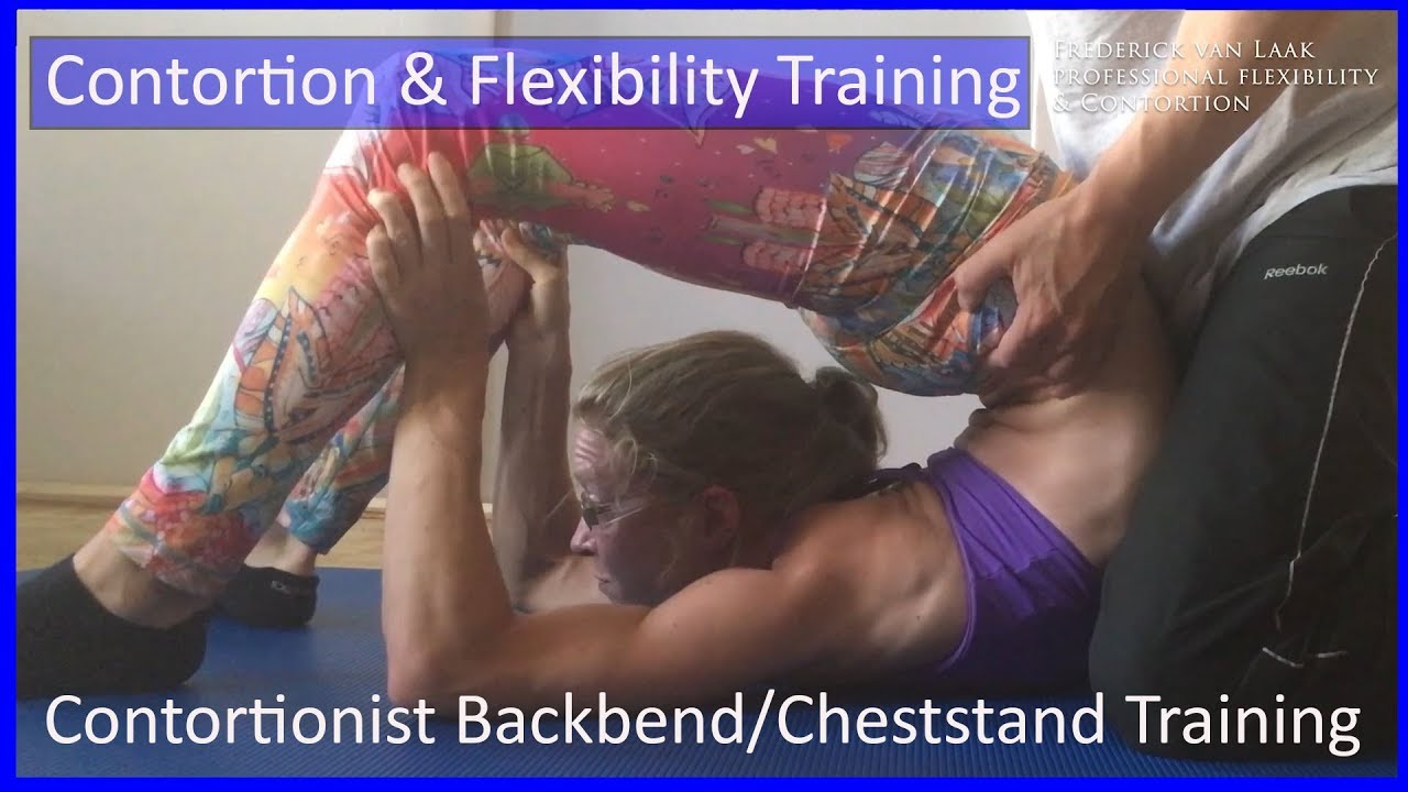 40 Flexyart Contortion: Backbend/Chestand Training  - Also for Yoga, Pole, Ballet, Dance People
