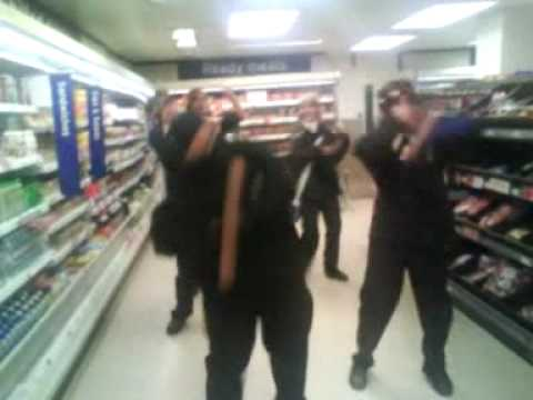 DISCO NINJA sainsburys assault