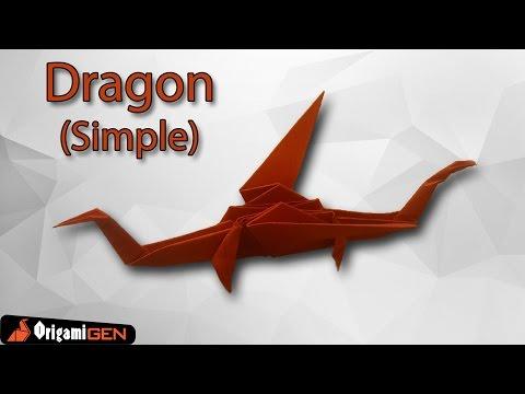 Origami Simple Dragon